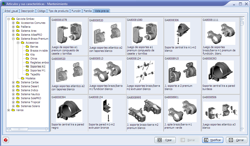 ingnio software toldos fabricantes e instaladores corte